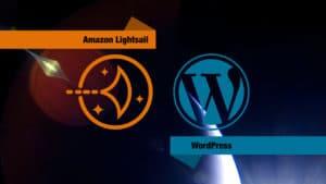 Lightsail and Wordpress.